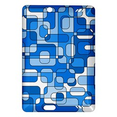 Blue decorative abstraction Amazon Kindle Fire HD (2013) Hardshell Case