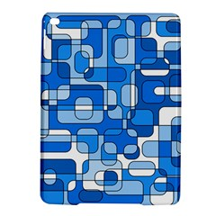 Blue decorative abstraction iPad Air 2 Hardshell Cases