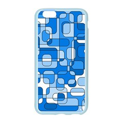 Blue decorative abstraction Apple Seamless iPhone 6/6S Case (Color)