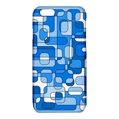 Blue decorative abstraction iPhone 6/6S TPU Case
