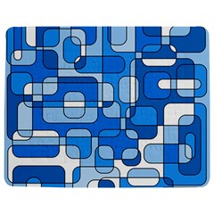 Blue Decorative Abstraction Jigsaw Puzzle Photo Stand (rectangular)