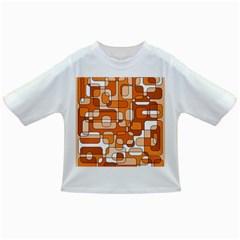 Orange decorative abstraction Infant/Toddler T-Shirts