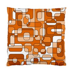 Orange decorative abstraction Standard Cushion Case (Two Sides)
