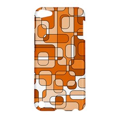 Orange decorative abstraction Apple iPod Touch 5 Hardshell Case