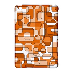 Orange decorative abstraction Apple iPad Mini Hardshell Case (Compatible with Smart Cover)