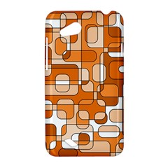 Orange decorative abstraction HTC Desire VC (T328D) Hardshell Case