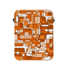 Orange decorative abstraction Apple iPad 2/3/4 Protective Soft Cases