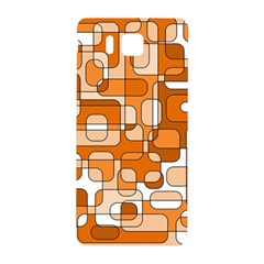 Orange decorative abstraction Samsung Galaxy Alpha Hardshell Back Case