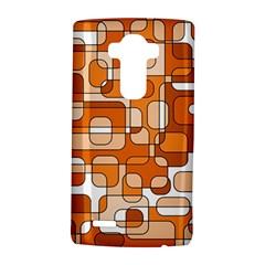 Orange decorative abstraction LG G4 Hardshell Case