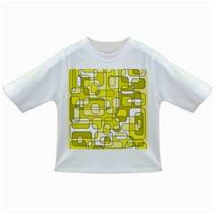 Yellow decorative abstraction Infant/Toddler T-Shirts