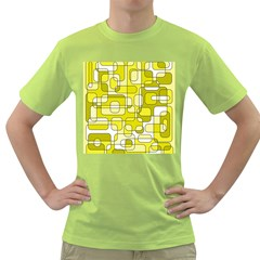 Yellow decorative abstraction Green T-Shirt
