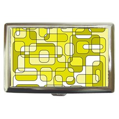 Yellow decorative abstraction Cigarette Money Cases