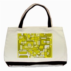 Yellow decorative abstraction Basic Tote Bag