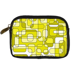 Yellow decorative abstraction Digital Camera Cases