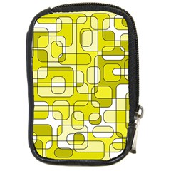 Yellow decorative abstraction Compact Camera Cases