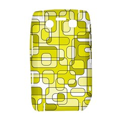Yellow decorative abstraction Bold 9700
