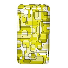 Yellow decorative abstraction HTC Vivid / Raider 4G Hardshell Case