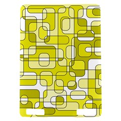 Yellow decorative abstraction Kindle Touch 3G