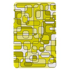 Yellow decorative abstraction Kindle Fire (1st Gen) Hardshell Case