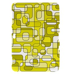 Yellow decorative abstraction Samsung Galaxy Tab 8.9  P7300 Hardshell Case