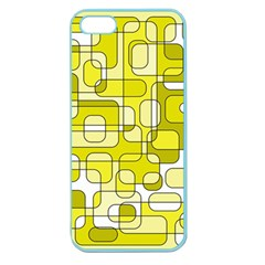 Yellow decorative abstraction Apple Seamless iPhone 5 Case (Color)