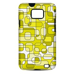 Yellow decorative abstraction Samsung Galaxy S II i9100 Hardshell Case (PC+Silicone)