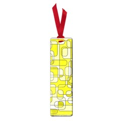 Yellow decorative abstraction Small Book Marks