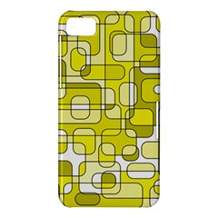 Yellow decorative abstraction BlackBerry Z10