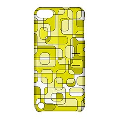 Yellow decorative abstraction Apple iPod Touch 5 Hardshell Case with Stand