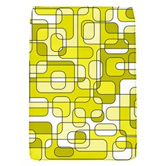 Yellow decorative abstraction Flap Covers (S)