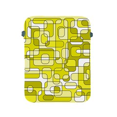 Yellow decorative abstraction Apple iPad 2/3/4 Protective Soft Cases