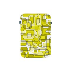 Yellow decorative abstraction Apple iPad Mini Protective Soft Cases
