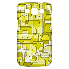 Yellow decorative abstraction Samsung Galaxy Win I8550 Hardshell Case