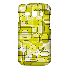 Yellow decorative abstraction Samsung Galaxy Ace 3 S7272 Hardshell Case
