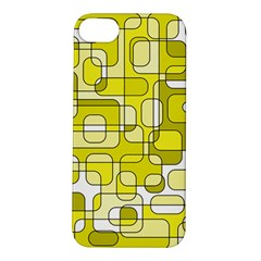 Yellow decorative abstraction Apple iPhone 5S/ SE Hardshell Case