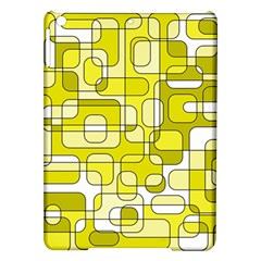 Yellow decorative abstraction iPad Air Hardshell Cases