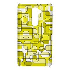 Yellow decorative abstraction LG G2
