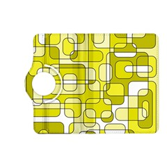 Yellow decorative abstraction Kindle Fire HD (2013) Flip 360 Case