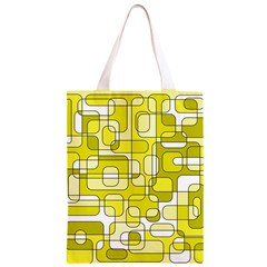 Yellow decorative abstraction Classic Light Tote Bag