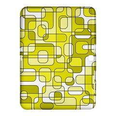 Yellow decorative abstraction Samsung Galaxy Tab 4 (10.1 ) Hardshell Case
