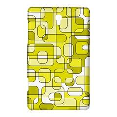 Yellow decorative abstraction Samsung Galaxy Tab S (8.4 ) Hardshell Case