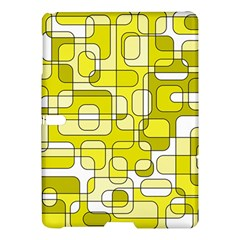 Yellow decorative abstraction Samsung Galaxy Tab S (10.5 ) Hardshell Case