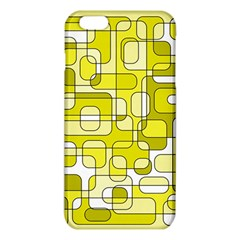 Yellow decorative abstraction iPhone 6 Plus/6S Plus TPU Case