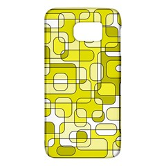 Yellow decorative abstraction Galaxy S6