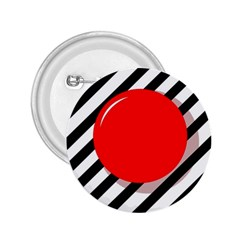 Red ball 2.25  Buttons