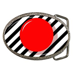 Red ball Belt Buckles