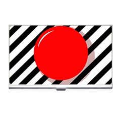 Red ball Business Card Holders