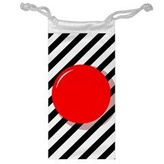 Red ball Jewelry Bags