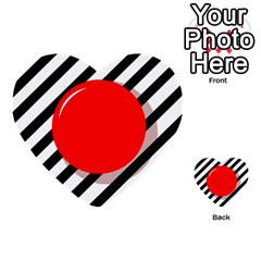 Red ball Multi-purpose Cards (Heart)