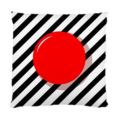 Red ball Standard Cushion Case (Two Sides)